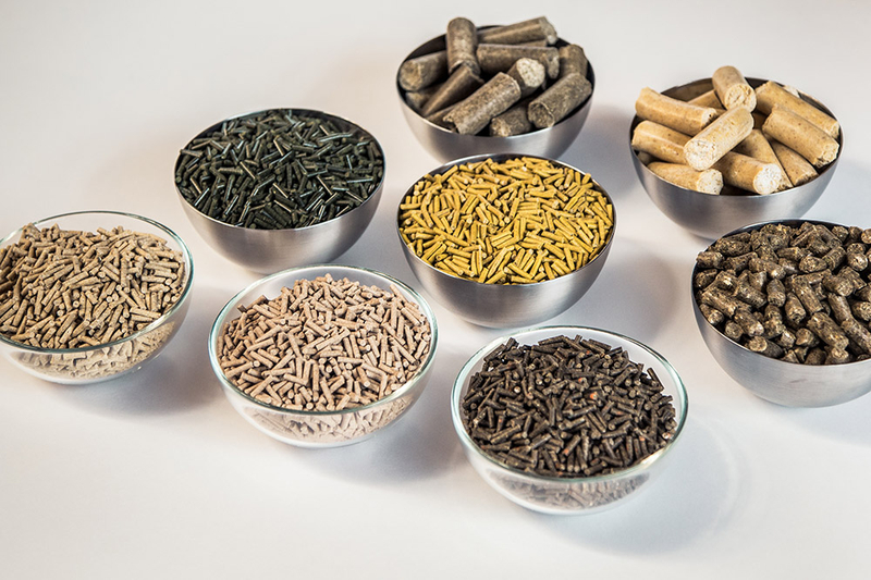 pellets in several varieties